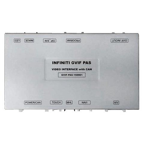 Видеоинтерфейс для Infiniti, Nissan с функцией PAS