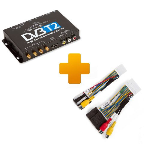 DVB-T2 TV Receiver and Connection Cable Kit for Touch, Scion Bespoke Monitors