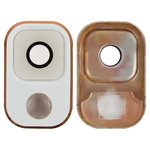 Camera Lens compatible with Samsung N900 Note 3, N9000 Note 3, N9005 Note 3, N9006 Note 3, (white and gold)