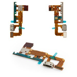 Flat Cable Huawei Ascend P6-U06, (charge connector, with