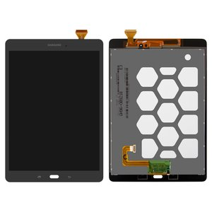 LCD for Samsung T550 Galaxy Tab A 9.7 , T555 Galaxy Tab A 9.7 LTE Tablets, (grey, with touchscreen)