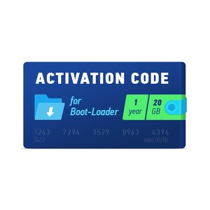 Boot-Loader 2.0 Activation Code (1 year, 20 GB)