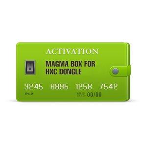 Активация Magma для HXC Dongle