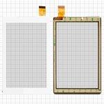 """Сенсорный экран для планшетов China-Tablet PC 7""""; Prestigio MultiPad 7.0 Color 2 3G (PMT3777), 7"""", 181 мм, 111 мм, 30 pin, емкостный, белый, #PB70A2616"""