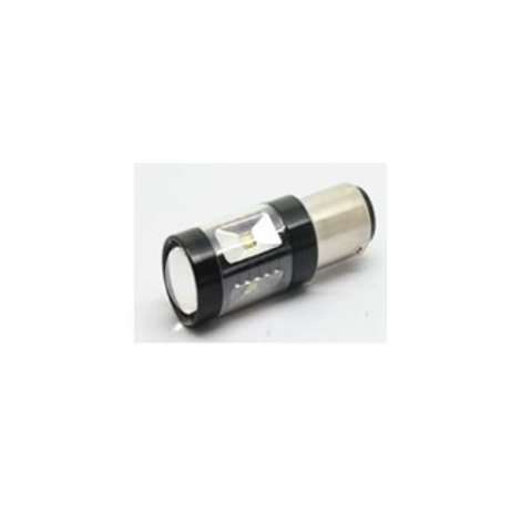 LED лампа тормоза/заднего хода UP-7G-1156FWB-30W(BA15S) (белая, 12-24 В)