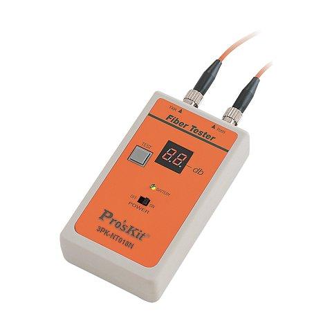 Тестер оптоволоконного кабелю Pro'sKit 3PK-NT018N-ST з ST конектором