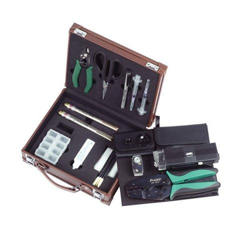 Набір інструментів Pro'skit PK 6940 для роботи з оптоволокном