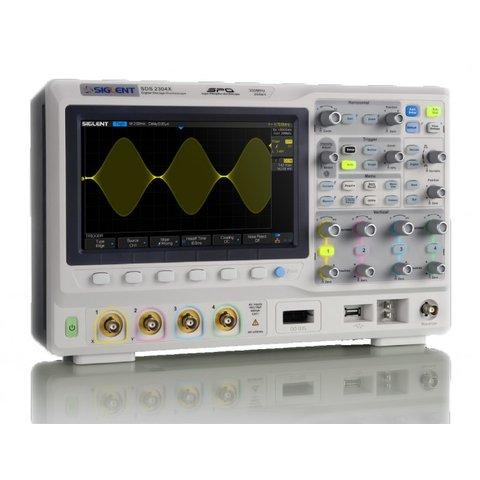 Фосфорний цифровий осцилограф SIGLENT SDS2102X