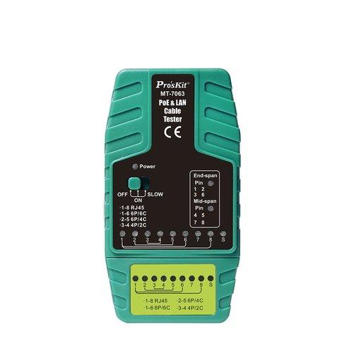 Тестер кабелю Pro'sKit MT 7063