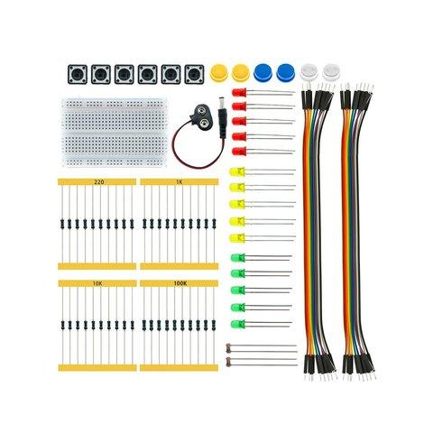 Стартовый набор для Arduino Starter Kit UNO R3 (без платы) + руководство пользователя