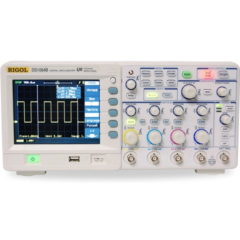Digital 4 channel Oscilloscope Rigol DS1064B