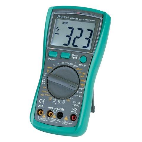 Pro'sKit MT 1280 Professional Digital Multimeter