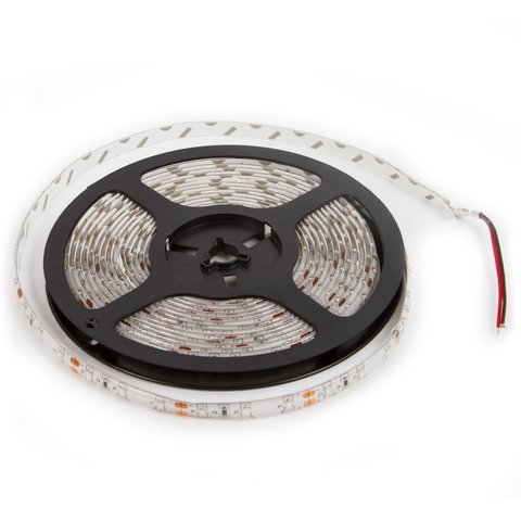 LED Strip SMD3528 red, 300 LEDs, 12 VDC, 5 m, IP65