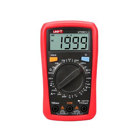 Pocket Digital Multimeter UNI T UT33C+